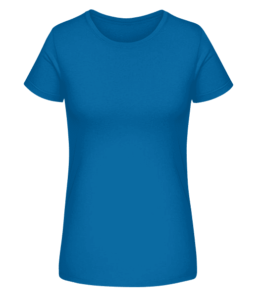 Women's Organic T-Shirt Stanley Stella - Royal blue - Vorn