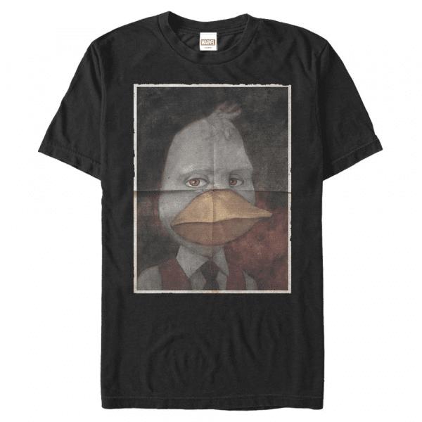 Howard Duckman Howard the Duck - Marvel - Men's T-Shirt - Black - Front