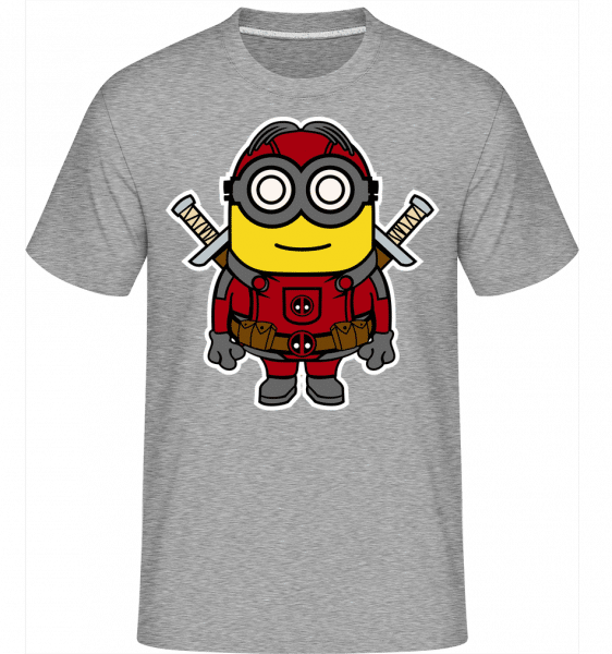 Minion Deadpool -  Shirtinator Men's T-Shirt - Heather grey - Vorn