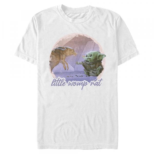 Little Womp Rat The Child - Star Wars Mandalorian - Men's T-Shirt - White - Front