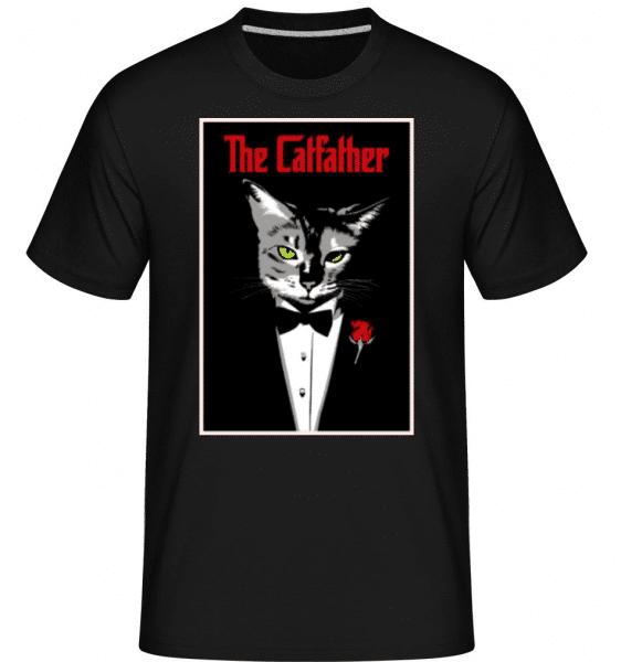 The Catfather -  Shirtinator Men's T-Shirt - Black - Front