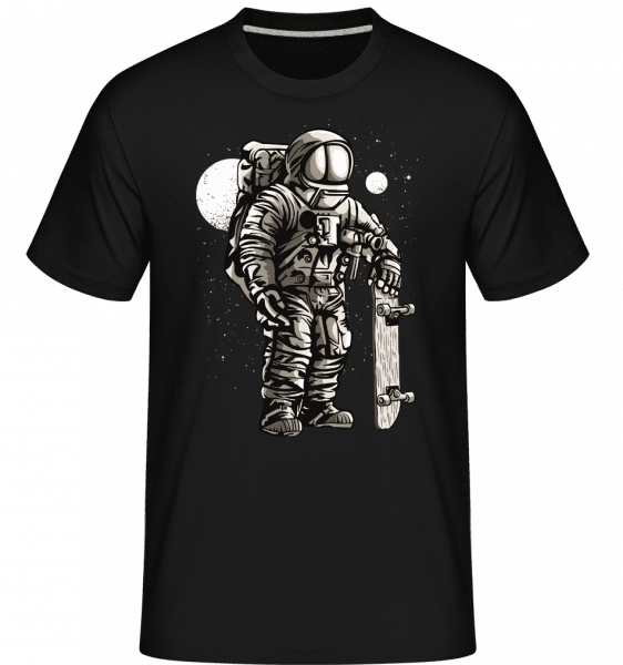 Astronaut Skater -  Shirtinator Men's T-Shirt - Black - Vorn