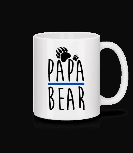 Papa Bear - Keramický hrnek - Bílá - Napřed