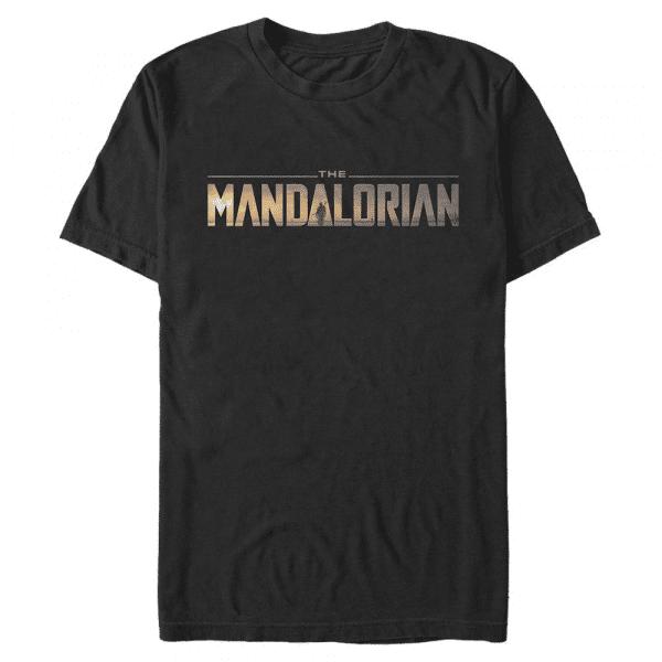 Mandalorian Logo - Star Wars Mandalorian - Men's T-Shirt - Black - Front