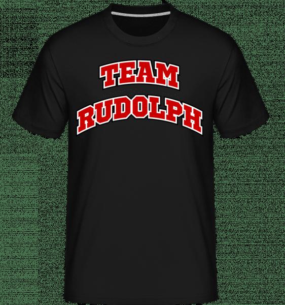 Team Rudolph -  T-Shirt Shirtinator homme - Noir - Vorn