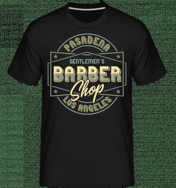 Barber Shop -  Shirtinator Men's T-Shirt - Black - Vorn