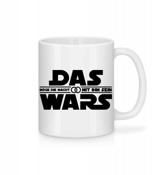 Das Wars Ehe - Tasse - Weiß - Vorn