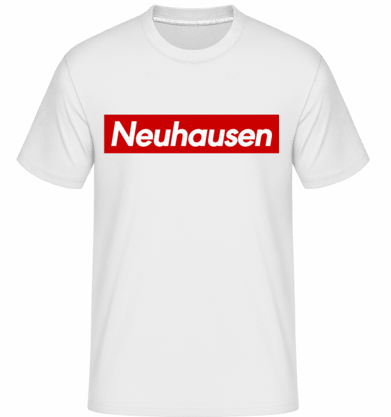 Neuhausen - Shirtinator Männer T-Shirt - Weiß - Vorn