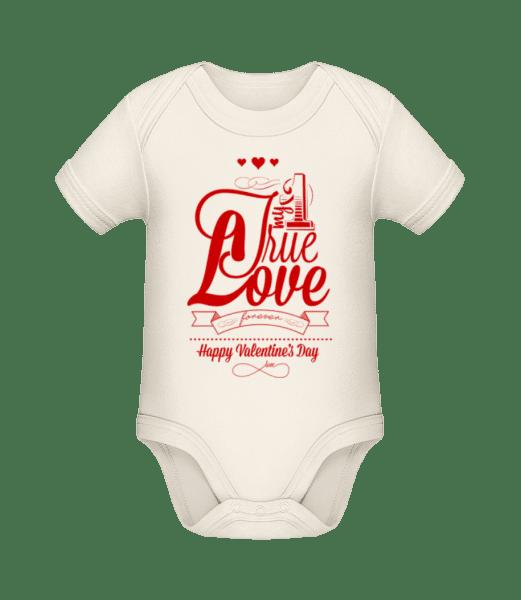 My True Love Valentine - Organic Baby Body - Cream - Vorn
