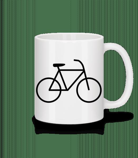 Bicycle - Mug - White - Vorn