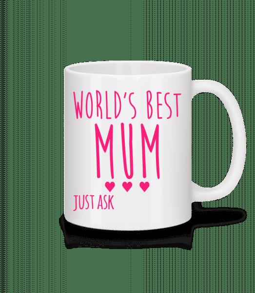 World's Best Mum - Mug - White - Vorn