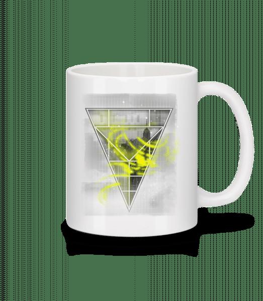 Skyline Triangle - Mug - White - Vorn