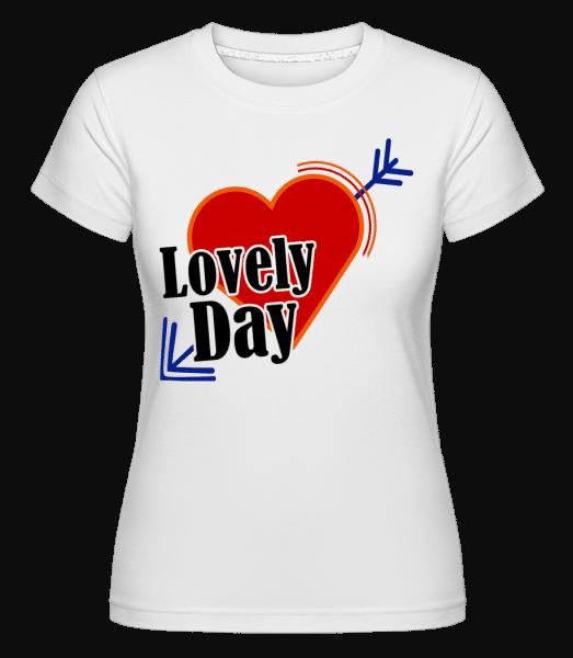 Lovely Day -  Shirtinator Women's T-Shirt - White - Vorn