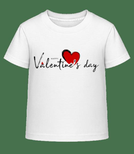Valentines Day - Kid's Shirtinator T-Shirt - White - Vorn