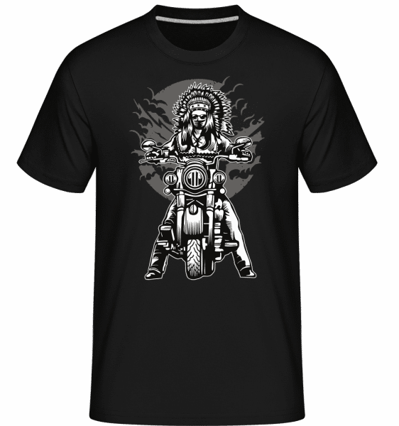 Indian Chief Motorcycle -  Shirtinator Men's T-Shirt - Black - Vorn