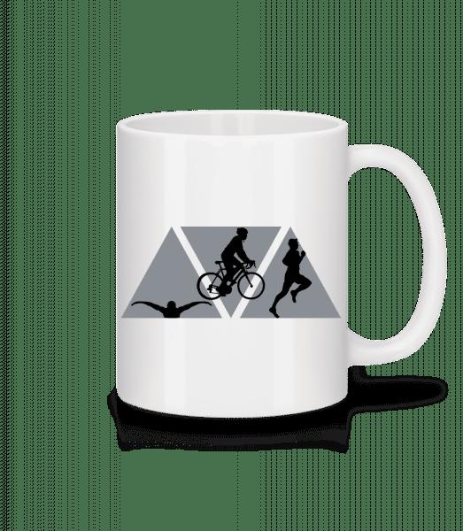 Triathlon - Mug - White - Front