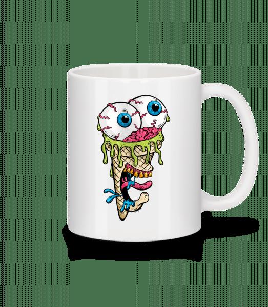 Horror Ice Cream - Mug - White - Vorn