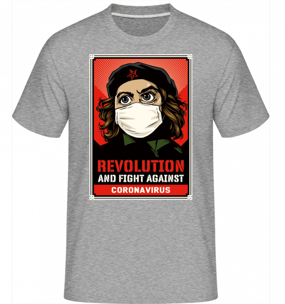 Revolution And Fight -  Shirtinator Men's T-Shirt - Heather grey - Vorn