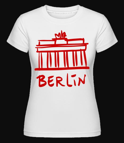 Berlin Sign -  Shirtinator Women's T-Shirt - White - Vorn