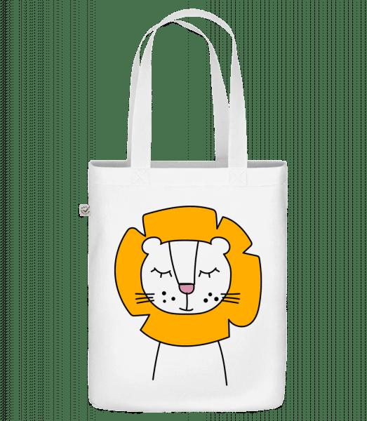 "Cute Lion - Organická taška ""Earth Positive"" - Bílá - Napřed"