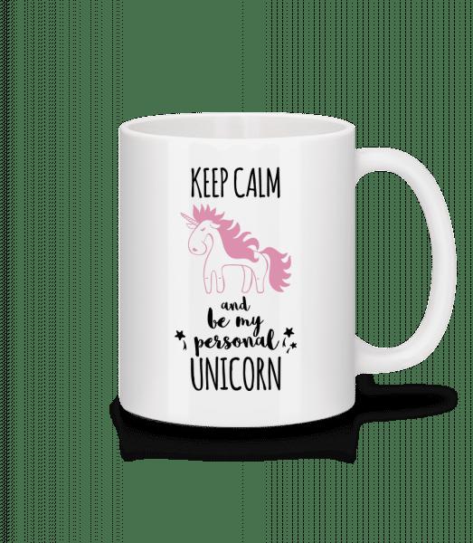 Be My Personal Unicorn - Mug - White - Front