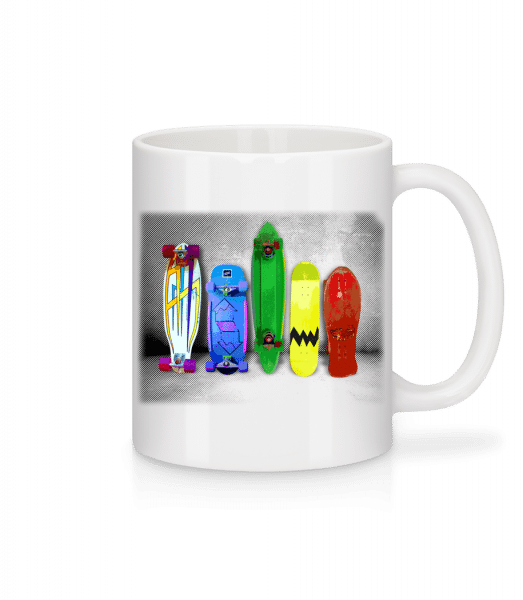 Crazy Boards - Mug - White - Vorn