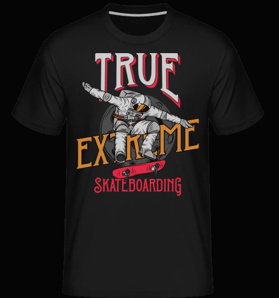 True Extreme Skateboarding -  Shirtinator Men's T-Shirt - Black - Vorn