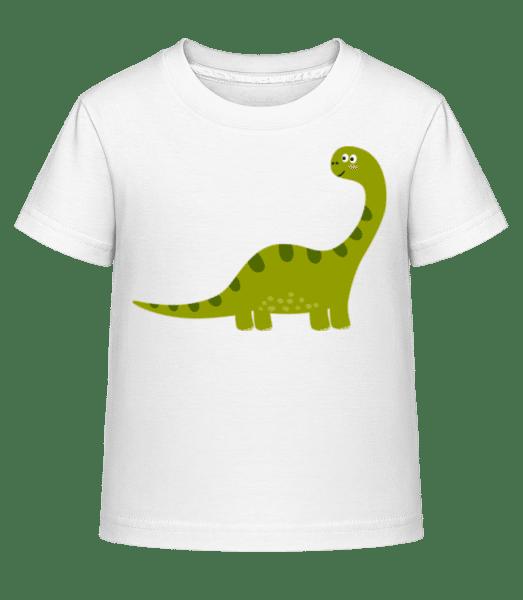 Sauropoden - Kid's Shirtinator T-Shirt - White - Vorn