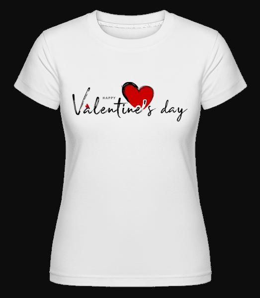 Valentines Day -  Shirtinator Women's T-Shirt - White - Vorn