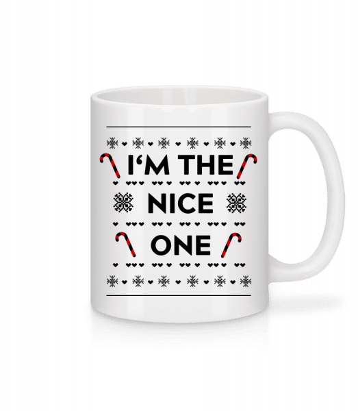 I'm The Nice One - Mug - White - Vorn