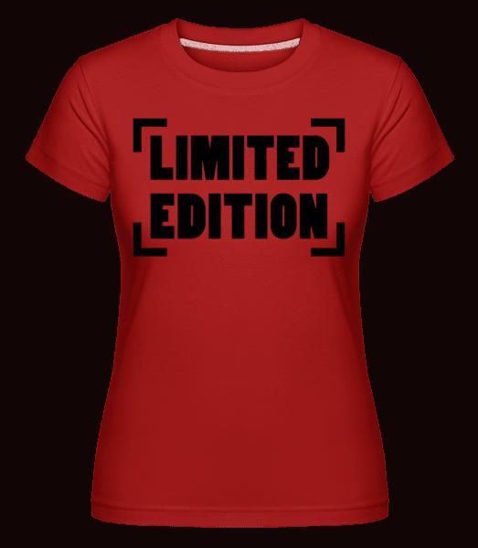 Limited Edition Logo -  Shirtinator Women's T-Shirt - Red - Vorn