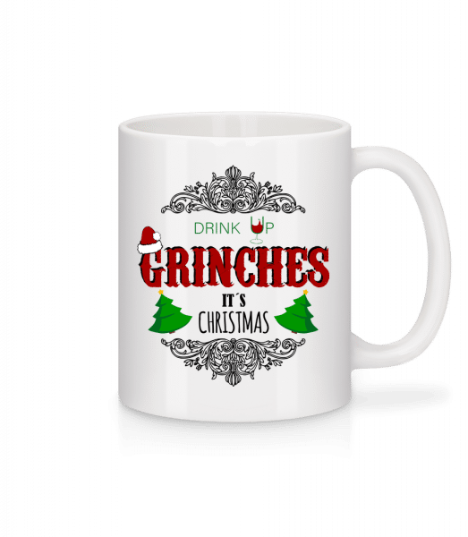Drink up Grinches - Mug - White - Vorn