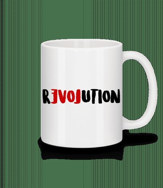 Revolution - Mug - White - Vorn