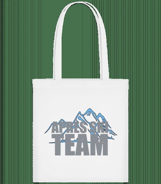 Team Après Ski - Carrier Bag - White - Vorn