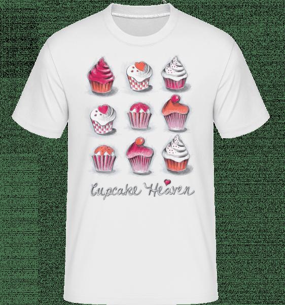 Cupcake Heaven -  Shirtinator Men's T-Shirt - White - Vorn