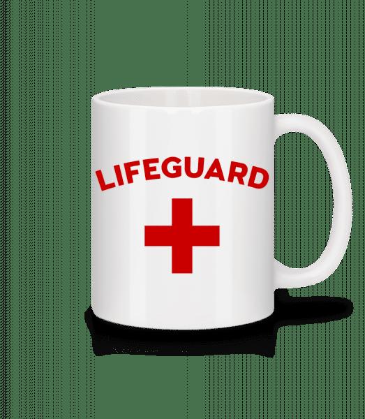 Lifeguard - Tasse - Weiß - Vorn
