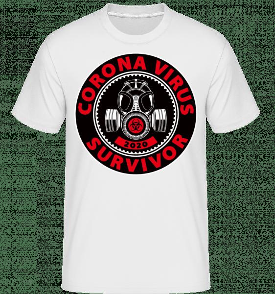 Survivor -  Shirtinator Men's T-Shirt - White - Front