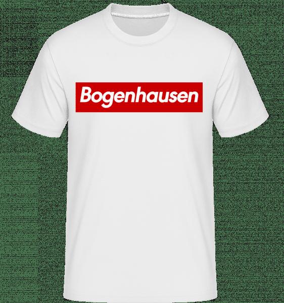Bogenahausen - Shirtinator Männer T-Shirt - Weiß - Vorn