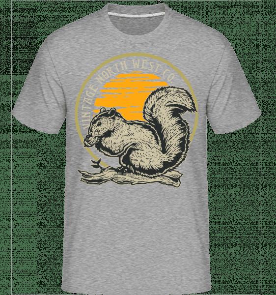 Squirel -  Shirtinator Men's T-Shirt - Heather grey - Vorn
