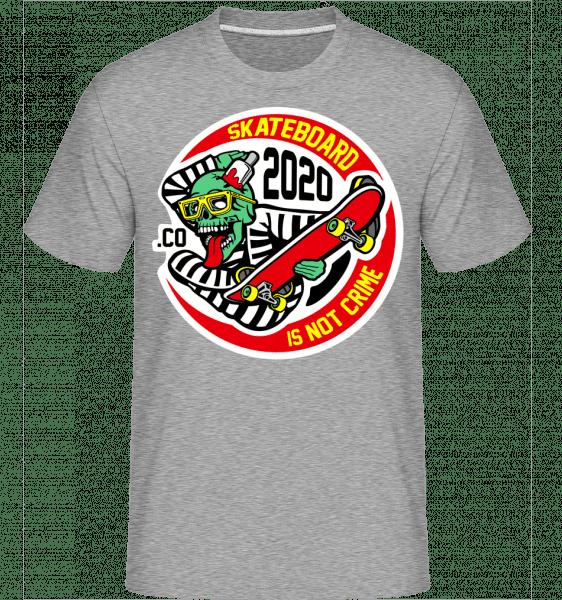 Criminal Skater -  Shirtinator Men's T-Shirt - Heather grey - Vorn