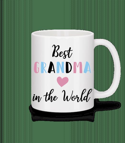 Best Grandma In The World - Mug - White - Vorn