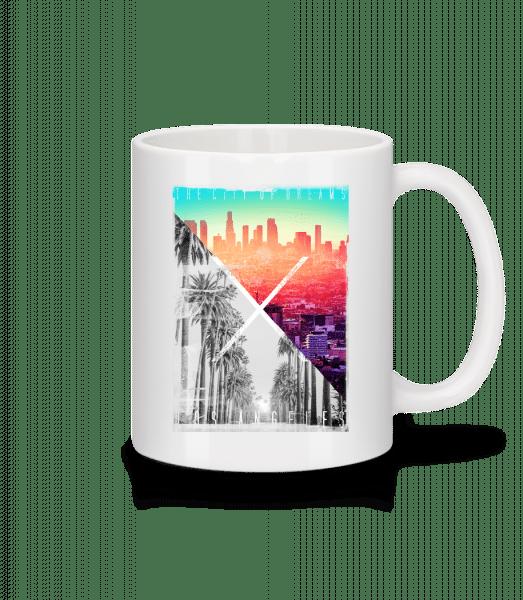 Los Angeles Dream - Mug - White - Vorn