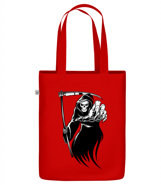"""The Death - Organic """"Earth Positive"""" tote bag - Red - Vorn"""