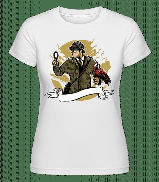 Sherlock Holmes -  Shirtinator Women's T-Shirt - White - Vorn