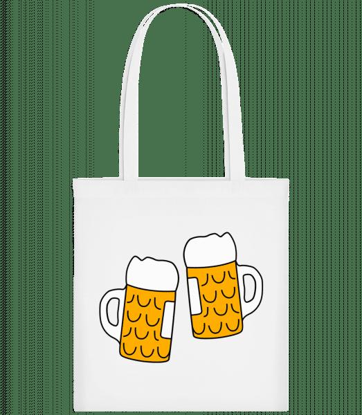 Two Beer - Carrier Bag - White - Vorn