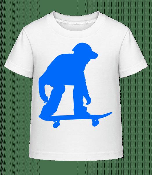 Skater Ready - Kid's Shirtinator T-Shirt - White - Vorn