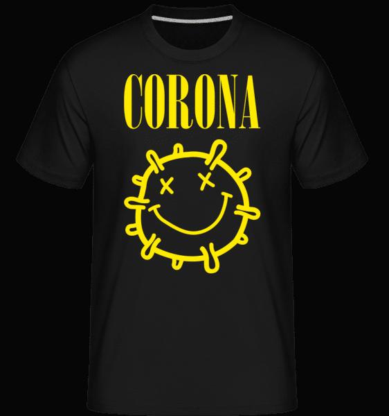 Corona - Shirtinator Männer T-Shirt - Schwarz - Vorn