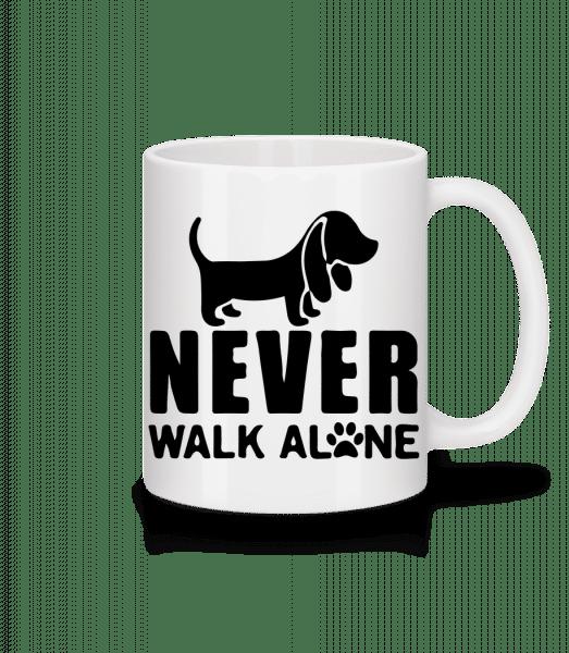 Never Walk Alone Dog - Mug - White - Vorn