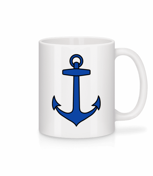 Anchor - Mug - White - Vorn
