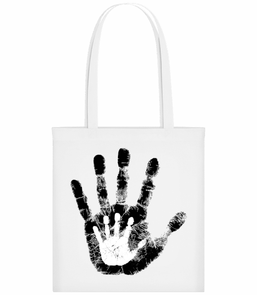Hand Parents Kid - Carrier Bag - White - Vorn